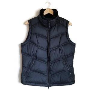 columbia sportswear puffer vest titanium down sz L
